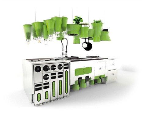 groen in de keuken