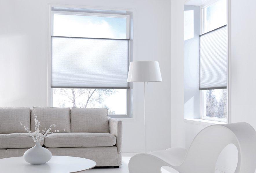 Decoratie raamdecoratie sunway : plissegordijnen