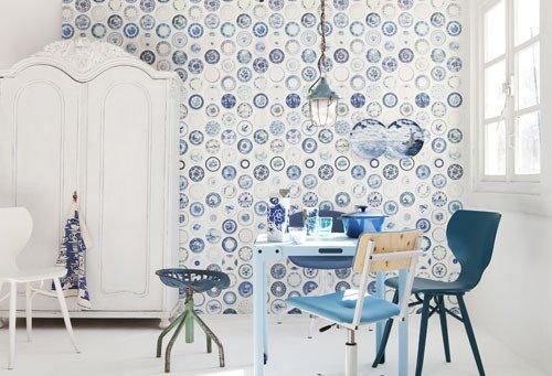 Woonkamer Accessoires Blauw: Servies lifestyle. Slaapkamer idee ...