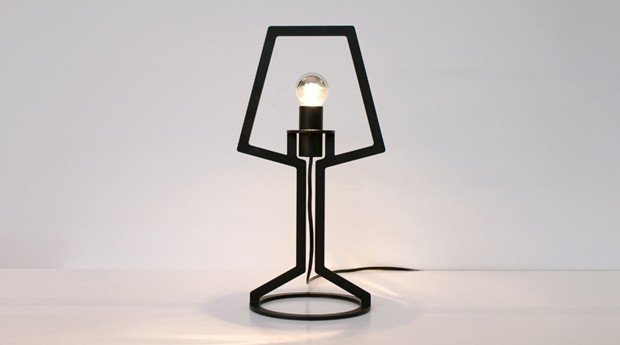 outline lamp