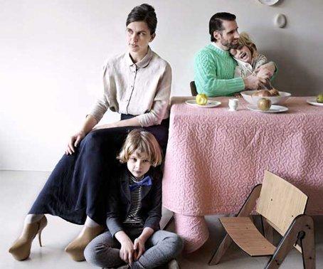 Kellie Smits met haar familie