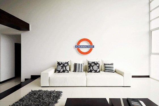 Airpart muurdecoratie - Muurdecoratie badkamer ...