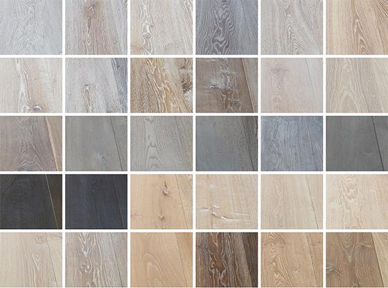 Houten vloer kleuren