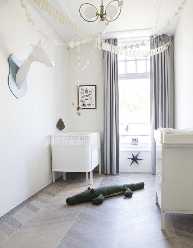De kinderkamer vloer bepaalt voor een groot deel de sfeer van de kamer.