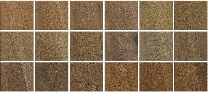 Kleuren bruine houten vloeren.