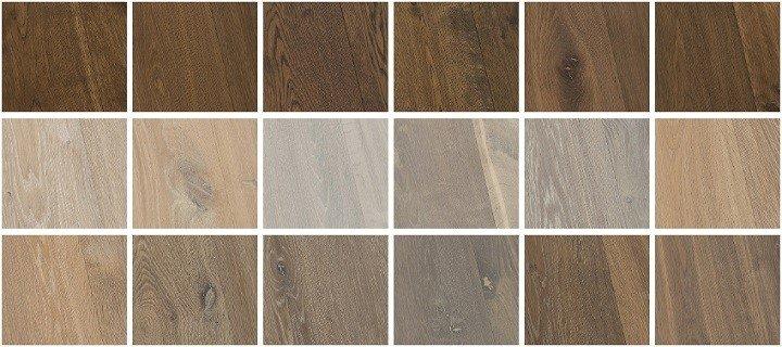 Kleuren grijze houten vloeren.