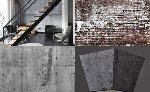 Het modern industriële interieur