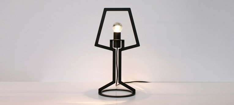 outline lamp