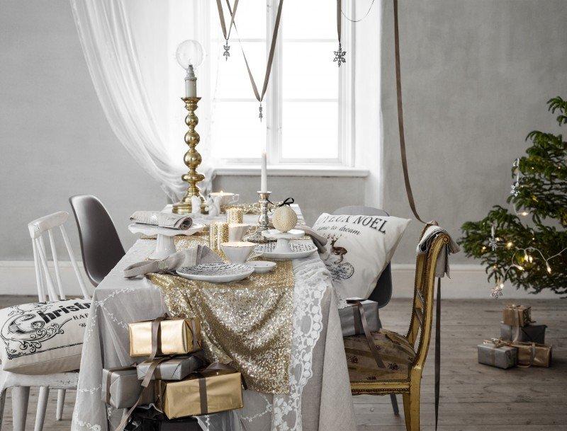 kersttrend goudkoorts met ingetogen glamourinterieur website. Black Bedroom Furniture Sets. Home Design Ideas