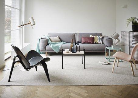 Simpelweg scandinavisch - Deco lounge oud en modern ...