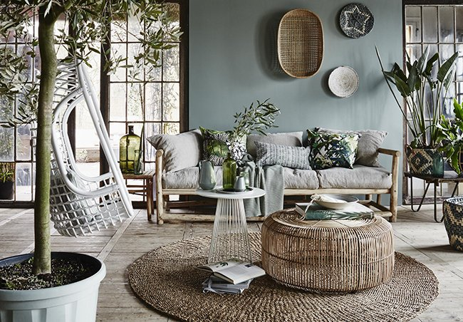 Botanical woontrend interieur websiteinterieur website for Woninginrichting inspiratie