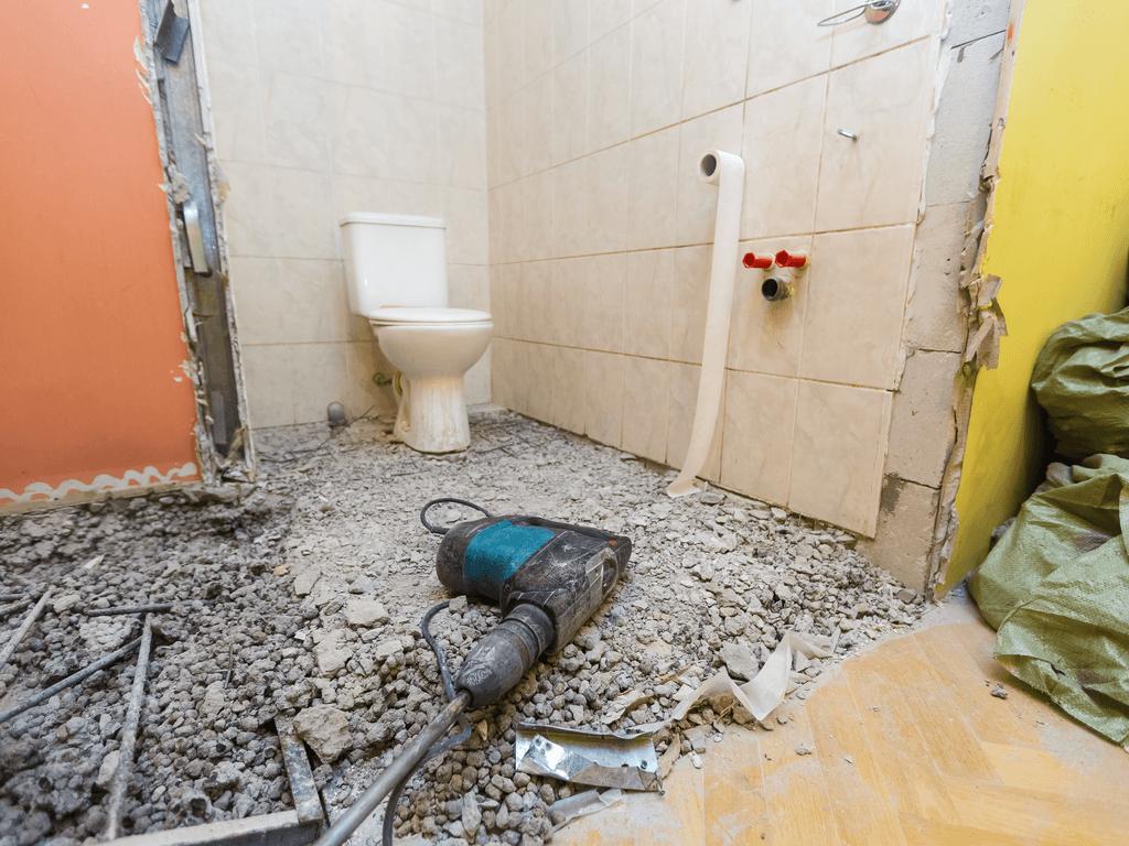 Badkamer zelf verbouwen