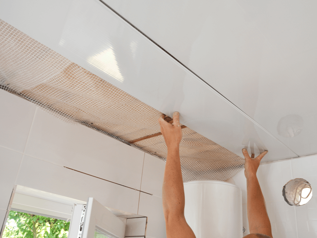 Plafond bekleden